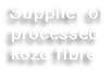 Supplier of processed kozo fibre